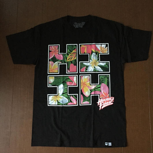 2018 AUKAKE LINE【HAWAII'S FINEST】FLORAL002 TEE(キッズ)