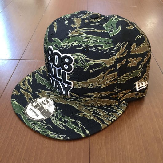 "808ALLDAY  STACK ""TIGER CAMO"" Hat"