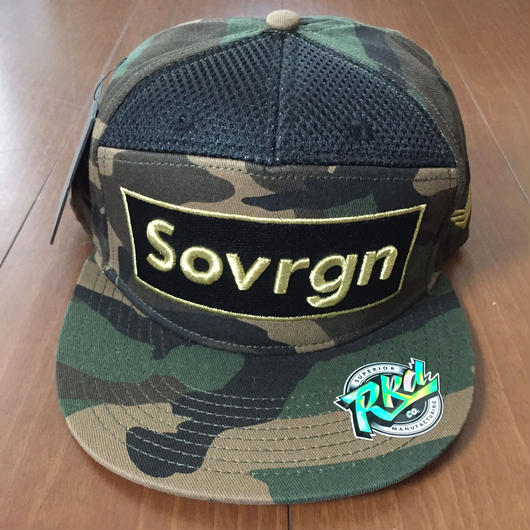 "SOVRGN ""BOX LOGO CAMO"" 7Panels Hat"