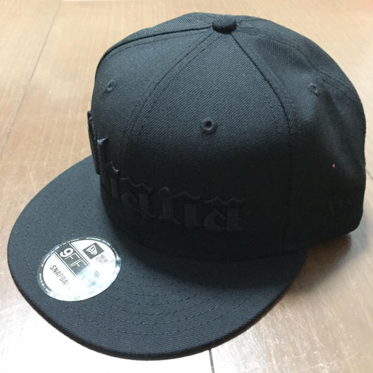 "808ALLDAY ""OHANA"" BLACK ON BLACK Hat"