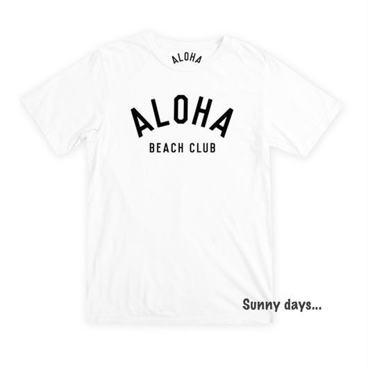 ALOHA BEACH CLUB ロゴ Tee