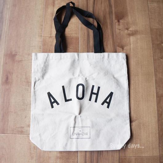 ハワイ UNIBAZAR/ユニバザー ALOHA トートバッグ