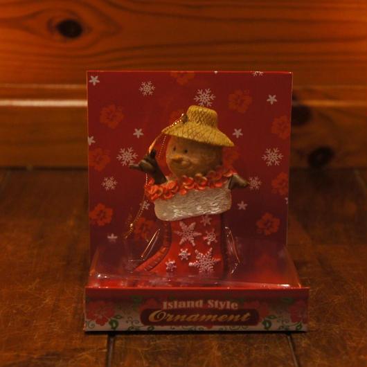 ハワイアン クリスマスオーナメント サンドマン ソックス