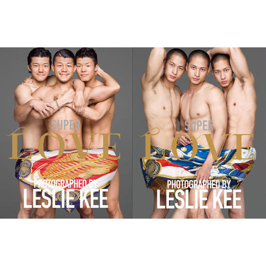 LESLIE KEE 15周年写真集 SUPER LOVE (COVER:E)