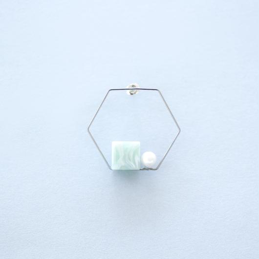 Sur/titanium pierce  TI-P4 /ピアス・片売り