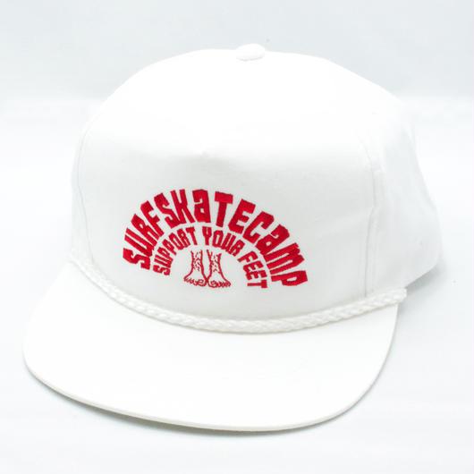 Logo EMB Trucker Cap WHT
