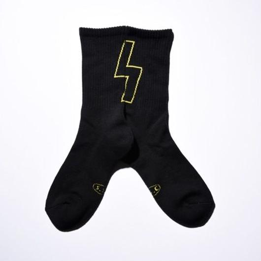 SS Socks BLK/YLW