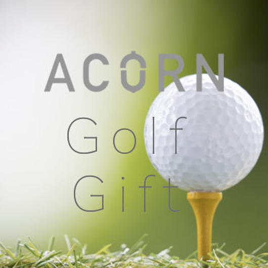 ACORN private salon Gift 「Golf Gift」