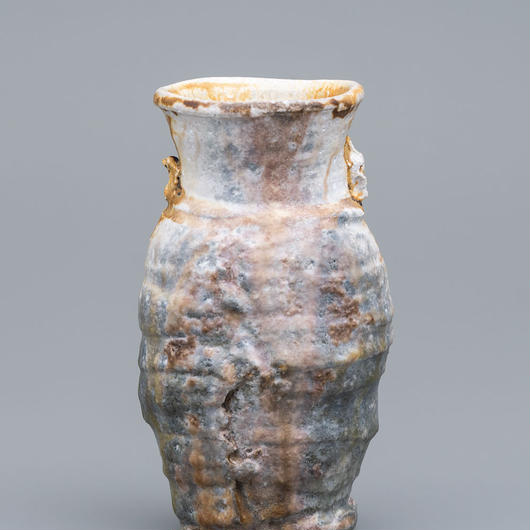 No.11:YOHEN Natural Ash Glaze Vase「窯変灰被花生」