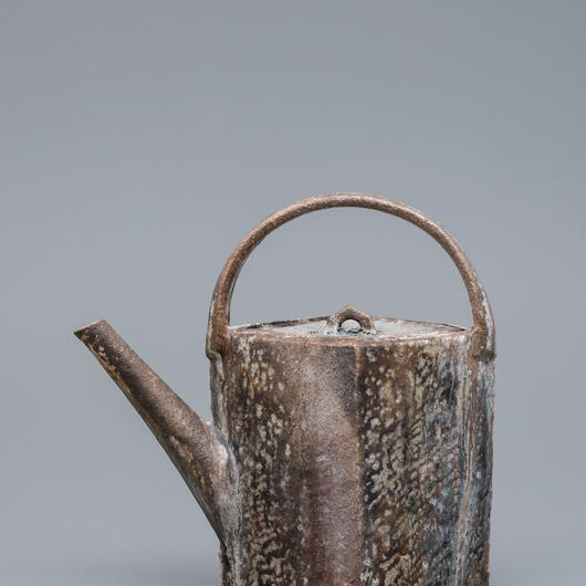 No.19:YOHEN Natural Ash Glaze Pot「窯変灰被水次」