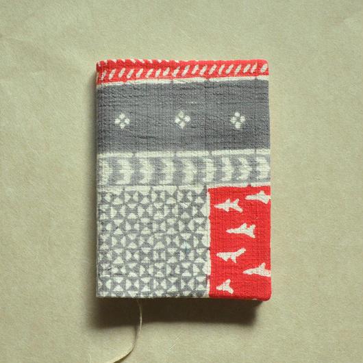 型染布ブックカバー(文庫本サイズ)|民布(多色)