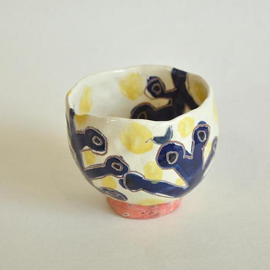 抹茶茶碗 囀り:箱付き