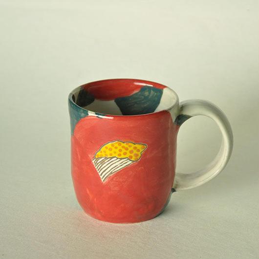 紅椿 マグカップ