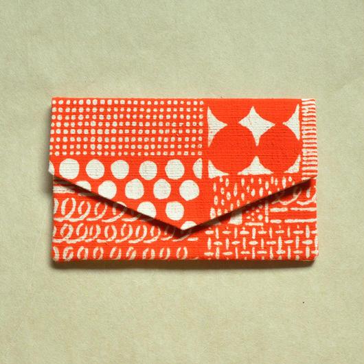 型染布ふくさ|花布(単色)