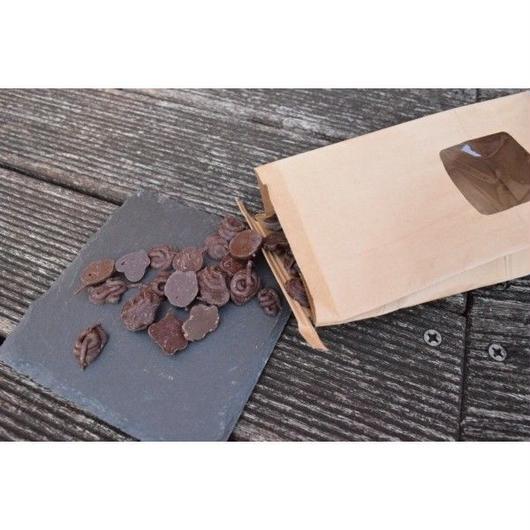 【ママノチョコレート】本格ホットチョコレートをご自宅で!ママノカカオレットドロップス 200g入り(オリジナルレシピ付き)