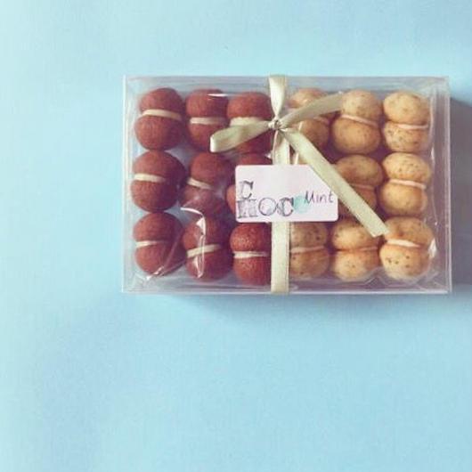 【KACO】チョコミントのクッキー・ブラック&ホワイト