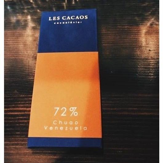 【レ カカオ】タブレット ショコラ チュアオ 72%(ベネズエラ)