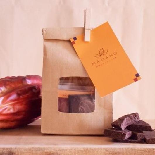 【ママノチョコレート】ママノカカオレットミニタブレット 73%ダーク5枚入り アリバナショナルエクアドル
