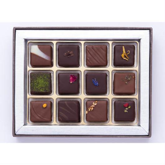 【プレスキル ショコラトリー】ビオロジ ドゥ ボンボン12個入り