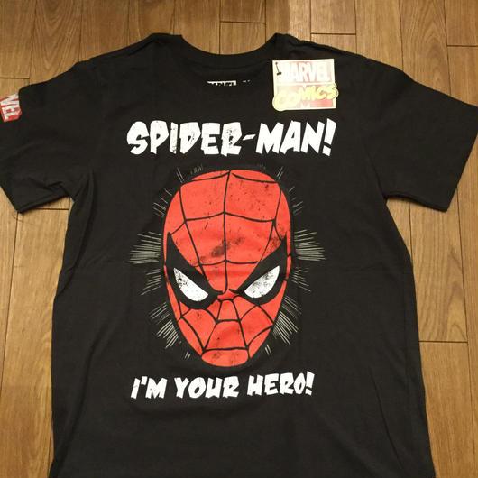 スパイダーマン Tシャツ L