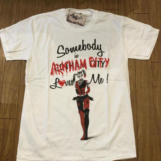 ハーレイクイン Tシャツ  arkham city