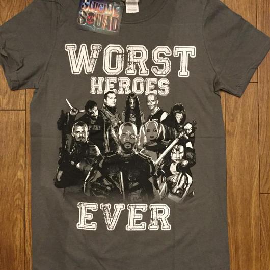SUICIDE SQUAD スーサイドスクワッド worst heros