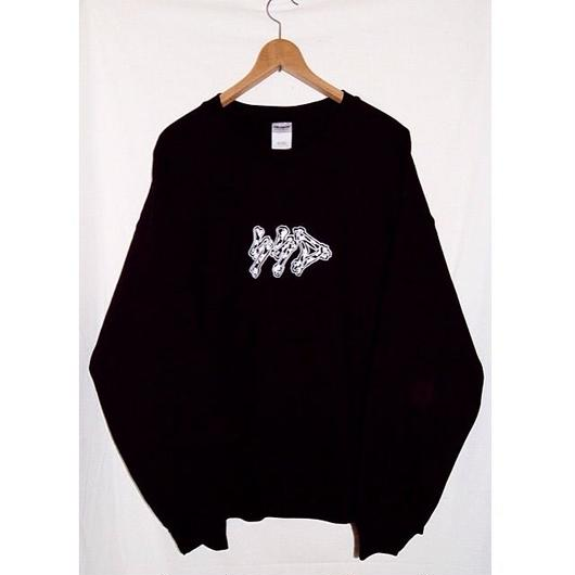 bk COW bones sweat