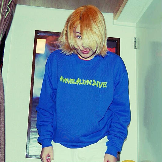 BLUE×YELLOW SSD sweat