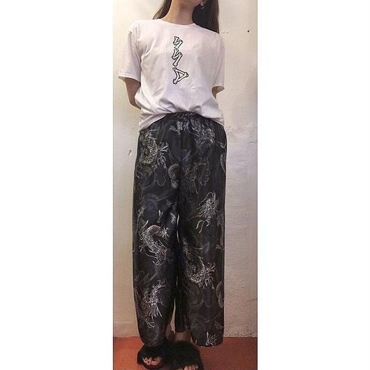 龍 WIDE PANTS