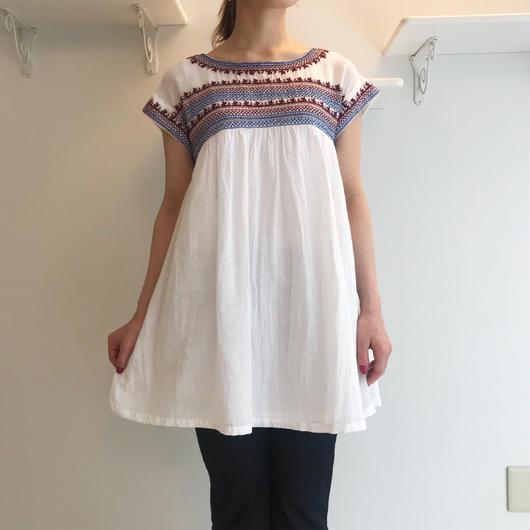 インドガーゼ刺繍*チュニック(81FAS021)