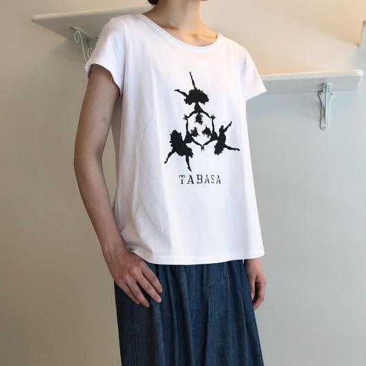 バレリーナプリント Tシャツ (81UTS008)