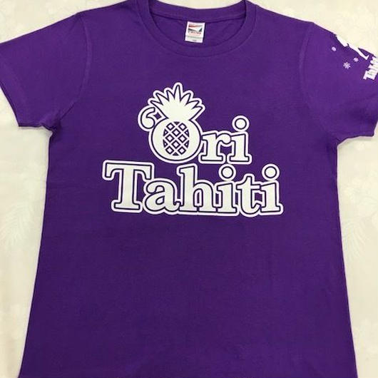 Ori Tahiti  Tシャツパープル