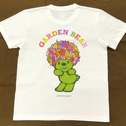 GADEN BEAR Tシャツ(ホワイト)