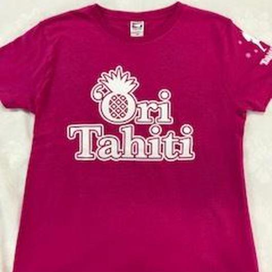 Ori Tahiti  Tシャツピンク