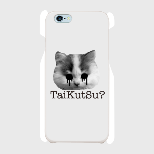 TaiKutSu?ネコ/iphoneケース