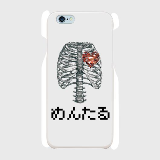 めんたる/iphoneケース