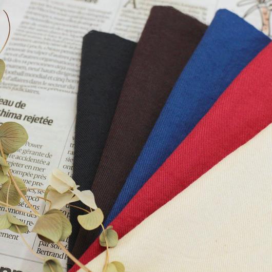 【心地良い肌触り】  fanageコットン90%ウール10% 綾織り生地/1m