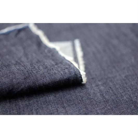 【軽くて滑かな触り心地】fanageコットン100% 4オンスデニム生地/1m