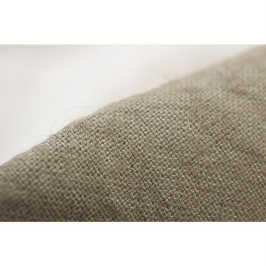 ふっくらリネン fanageラミー50%リネン50% 25番手糸使用 平織り生地/1m