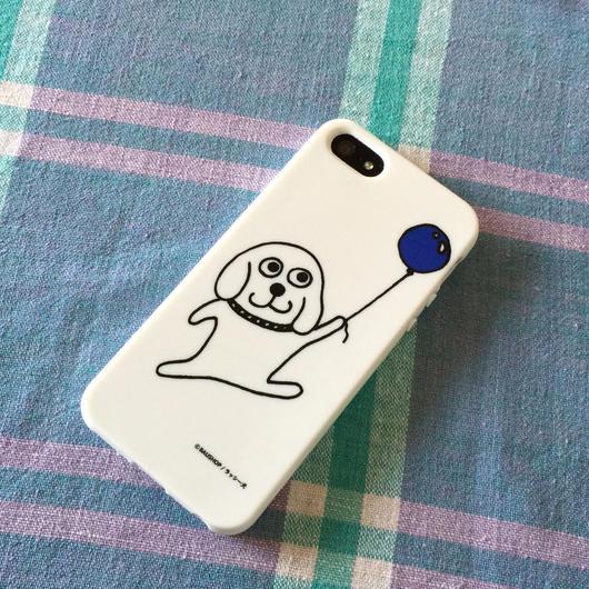 「風船持って飛んでるラッシー犬」のiPhoneケース 5, 5s, 6対応!