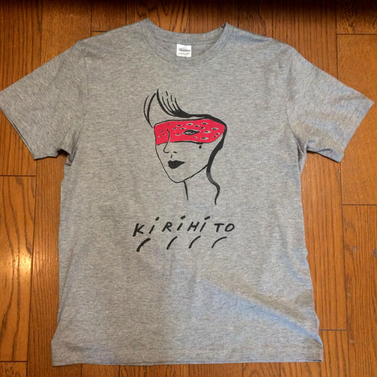 KIRIHITO TEE-37A ver. grey(K-WOMAN) NEW!!!