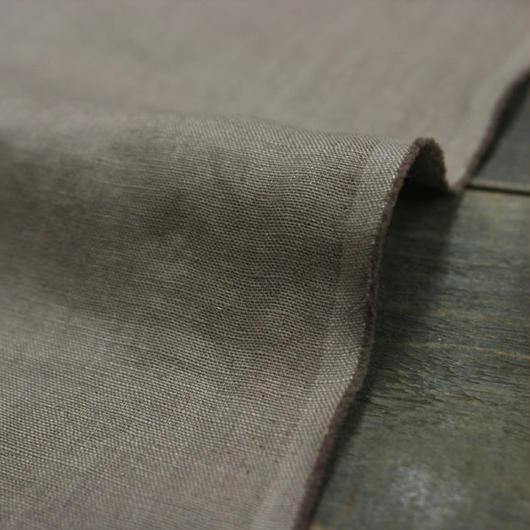 サフィラン社製リネン100%広幅40番手 トープ色