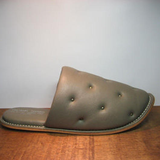 Sofa Slippers STUDS GRAY