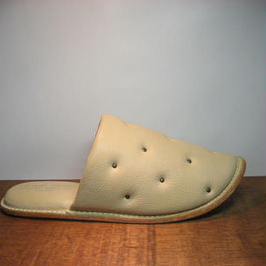 Sofa Slippers STUDS IVORY