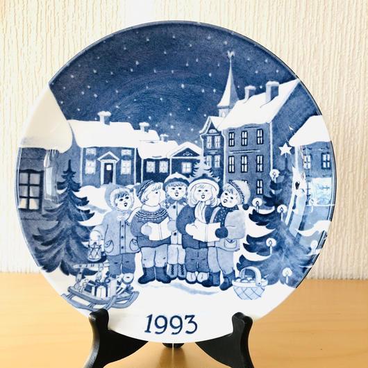 Gustavsberg/グスタフスベリ/Jultallrik/クリスマスプレート/1993年