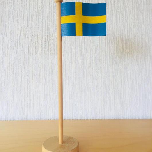 Hemslöjd/木製スウェーデンの国旗