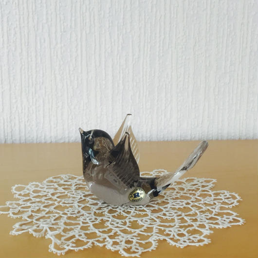 Reijmyre/レイミーレ/ヴィンテージガラスの小鳥