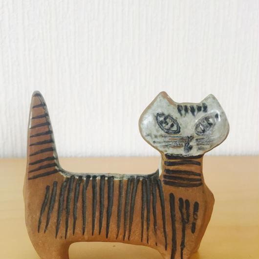 Gustavsberg/グスタフスベリ/Lilla Zoo/小さなズーシリーズ/立ちネコ