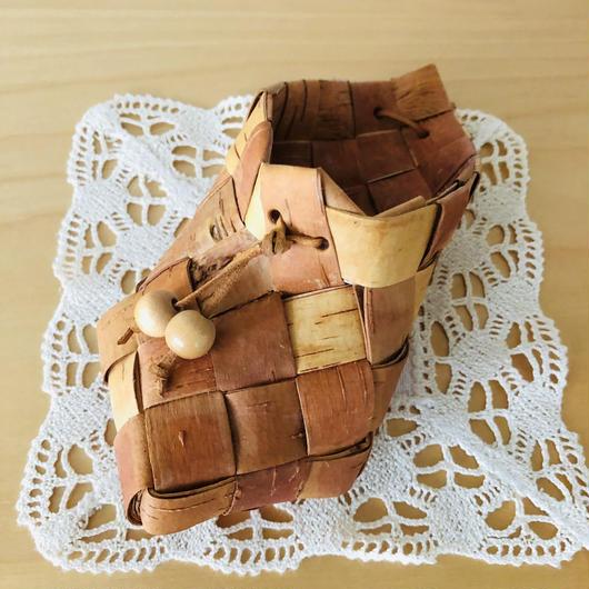 白樺細工/Näver/ネーバー/木靴型