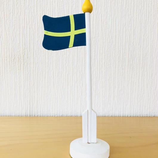 スウェーデンの国旗/木製
